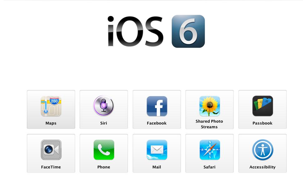 iOS 6 apps