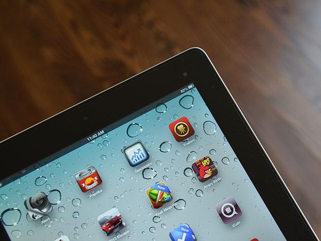 iPad screen protector install