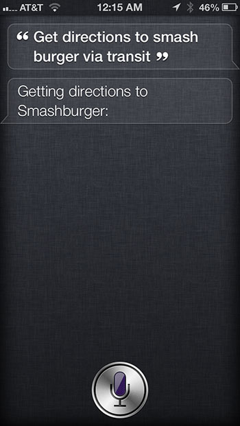 Get Siri to use Google Maps for directions