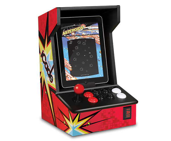 iCade retro gaming console iPad