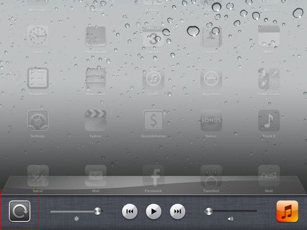 screen lock iPad