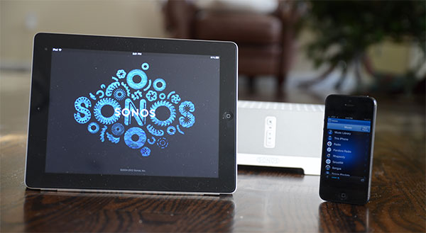 Stream music from iPhone to Sonos