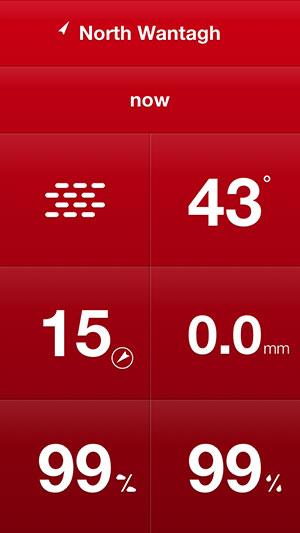Weathercube Gesture weather app iPhone