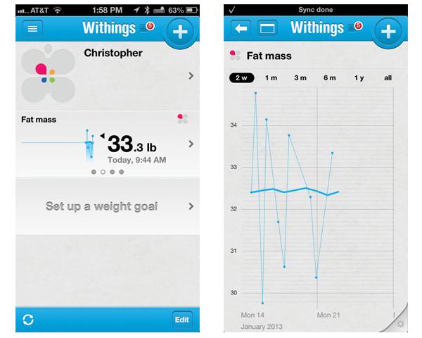 Withings app