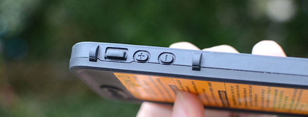 LifeProof volume buttons