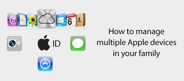 Manage multiple Apple devices