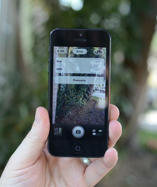 Panorama photos iPhone