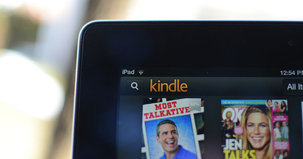 Read Kindle books on iPad