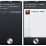 set Siri relationships