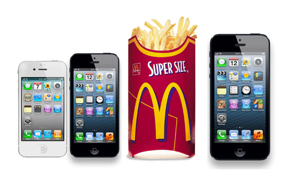 Supersize 5-inch iPhone