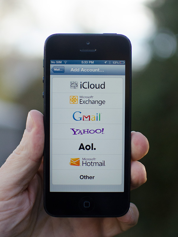 how to close gmail account on iphone