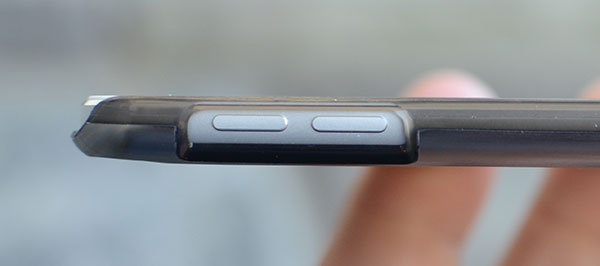 access to volume buttons