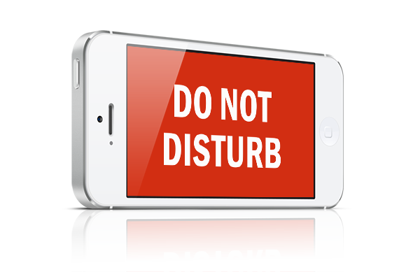 use do not disturb on iPhone