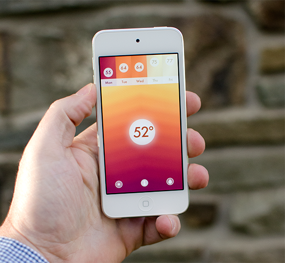 Haze weather app for iphone