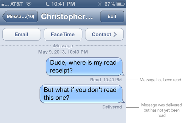 read messages on iphone how to get read receipts in imessage 3469