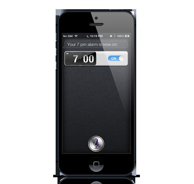 Siri turn alarm on