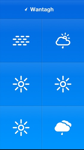 Weathercube flat design