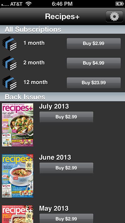 Subscription pricing in Newsstand