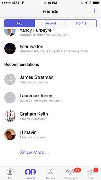 Friend recommendations