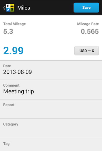 Expensify for iPhone