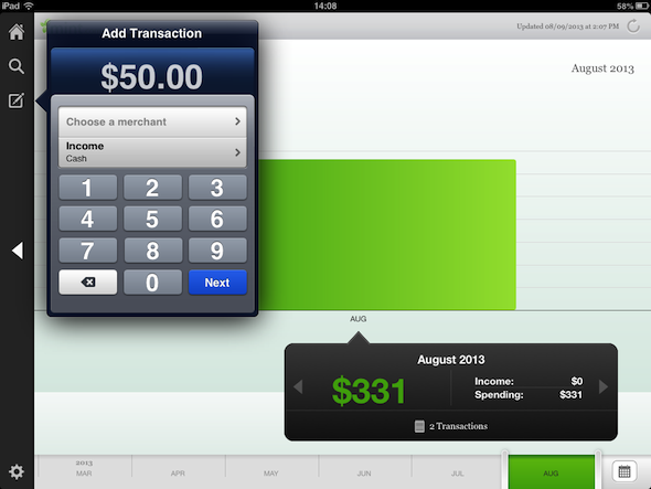 Mint for iPhone and iPad 1