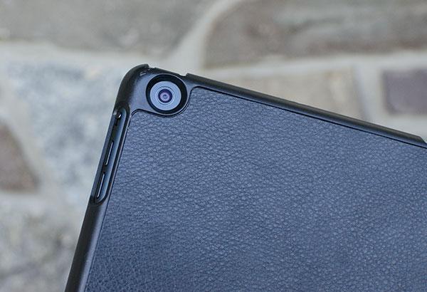iPad mini case camera access