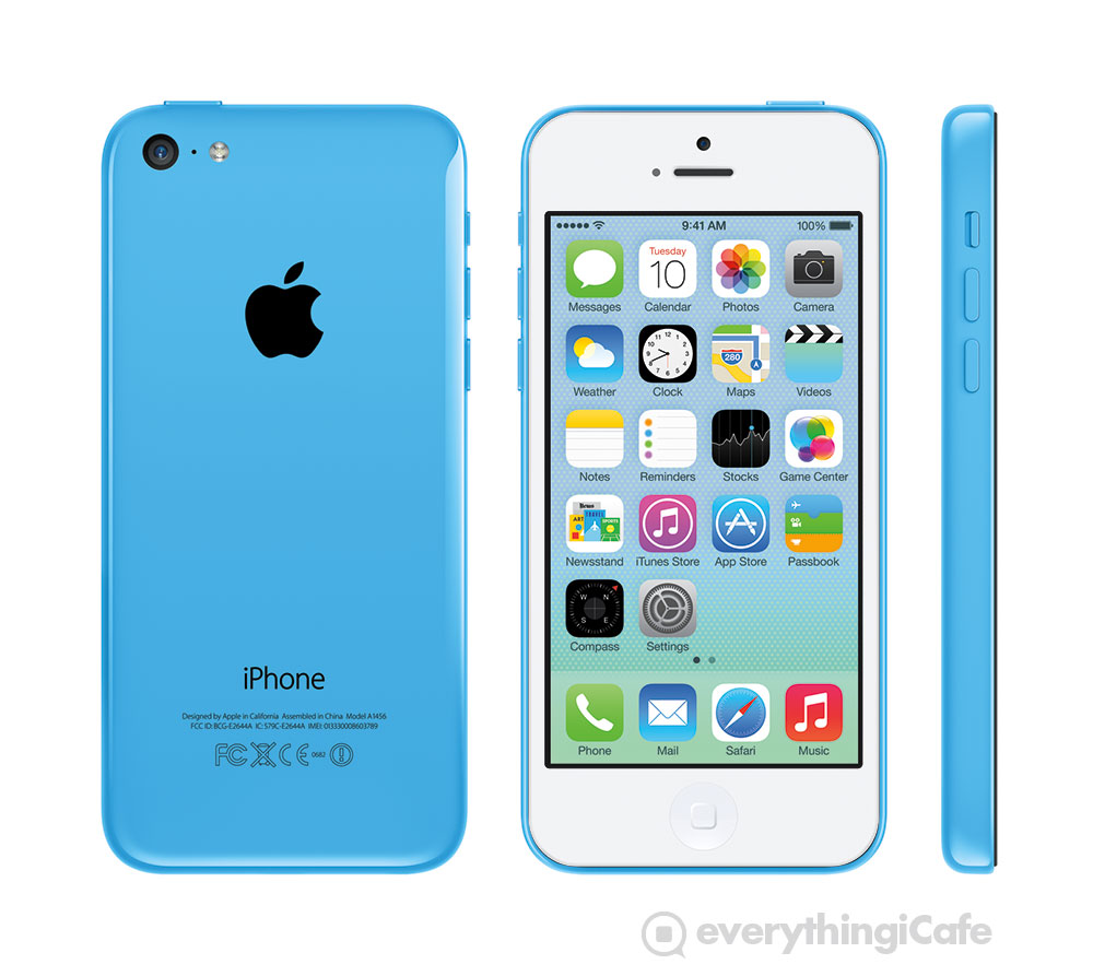 Blue white iPhone 5c