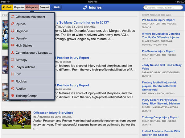Football Guys iPad