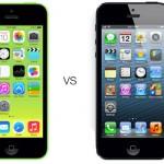 iPhone 5c vs iPhone 5