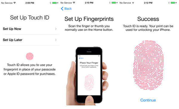 Setup Touch ID