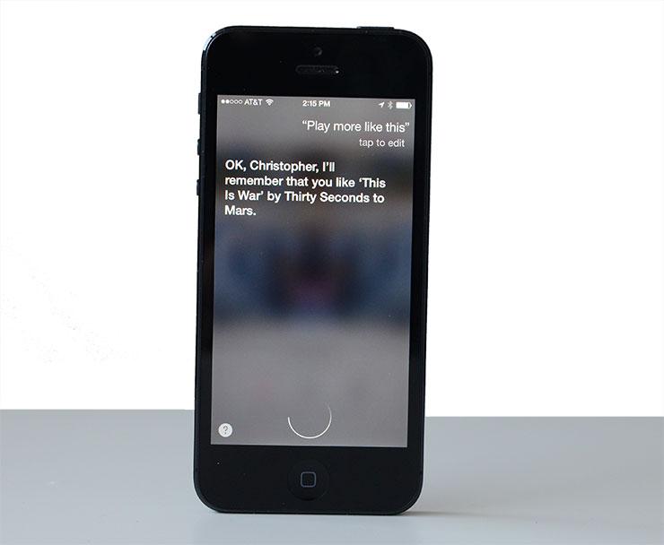 Siri iTunes Radio