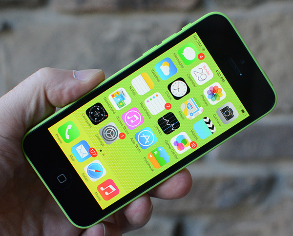 iOS 7 on iPhone 5c