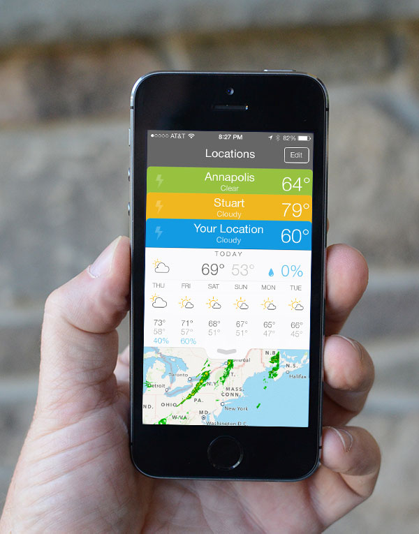 Perfect Weather and Weather Line: Apps That Shine Brightly In iOS 7