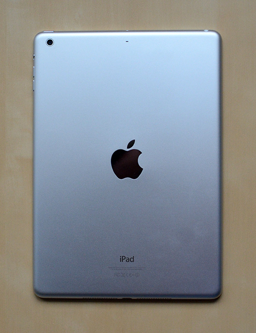 back of iPad Air