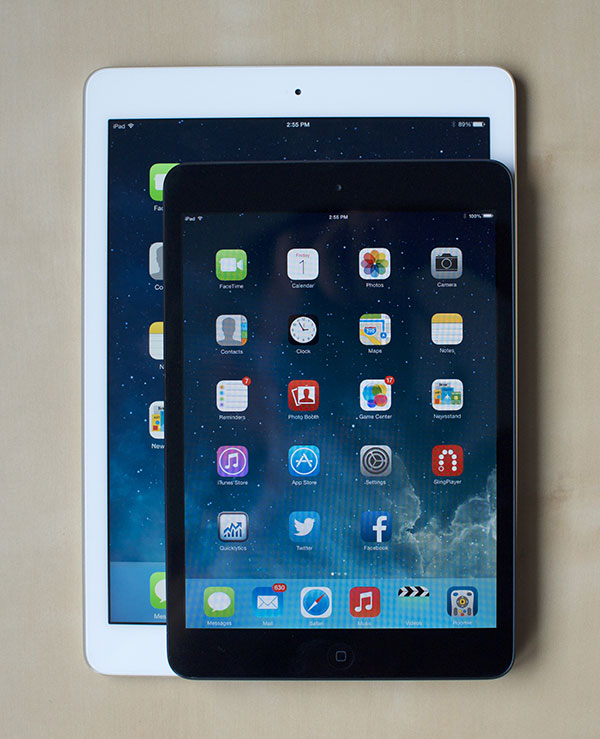iPad Air vs iPad mini