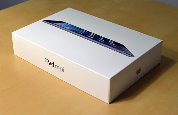 retina ipad mini unboxing