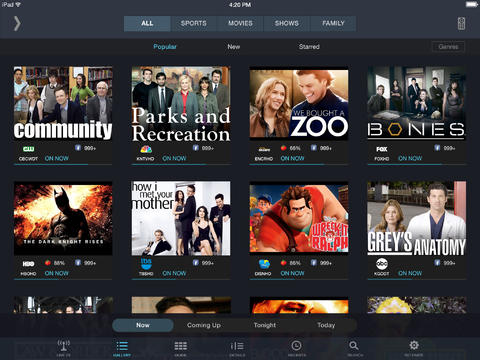 SlingPlayer for iOS 7