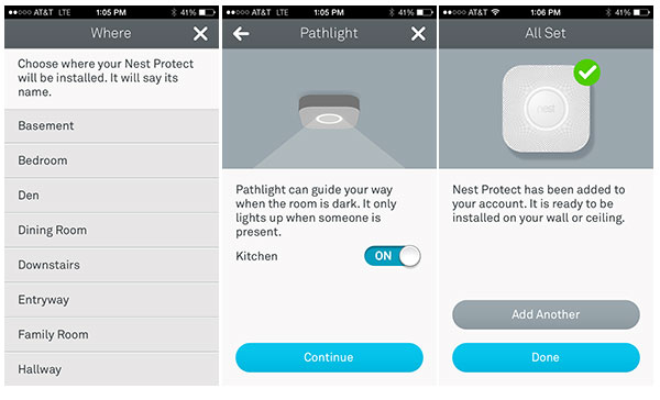Adding Nest Protect