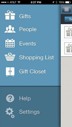 Gift closet