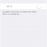Some Users Experiencing Grayed Out WiFi on iPhone 4S After iOS 7 Update