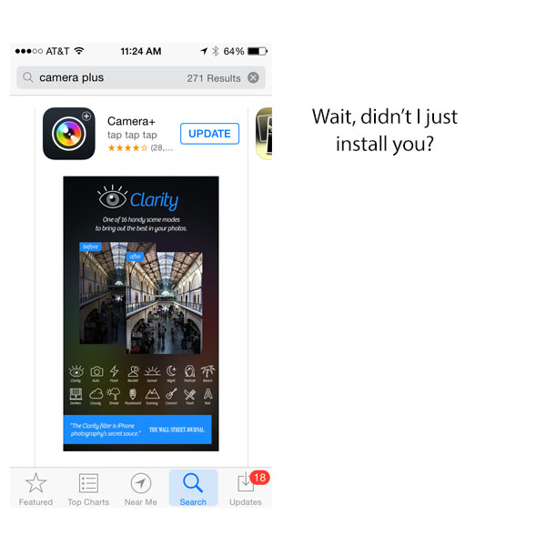 Why Is The App Store Pushing Older Versions Of Apps?
