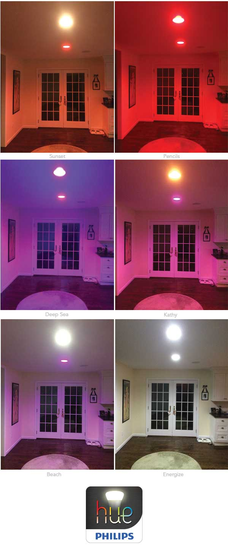 Philips Hue lights