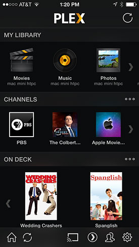 Plex on iPhone