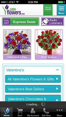 800-Flowers iPhone app