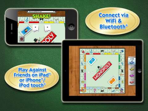 Monopoly connect iPhone iPad
