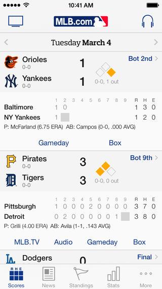 MLB At Bat 2014