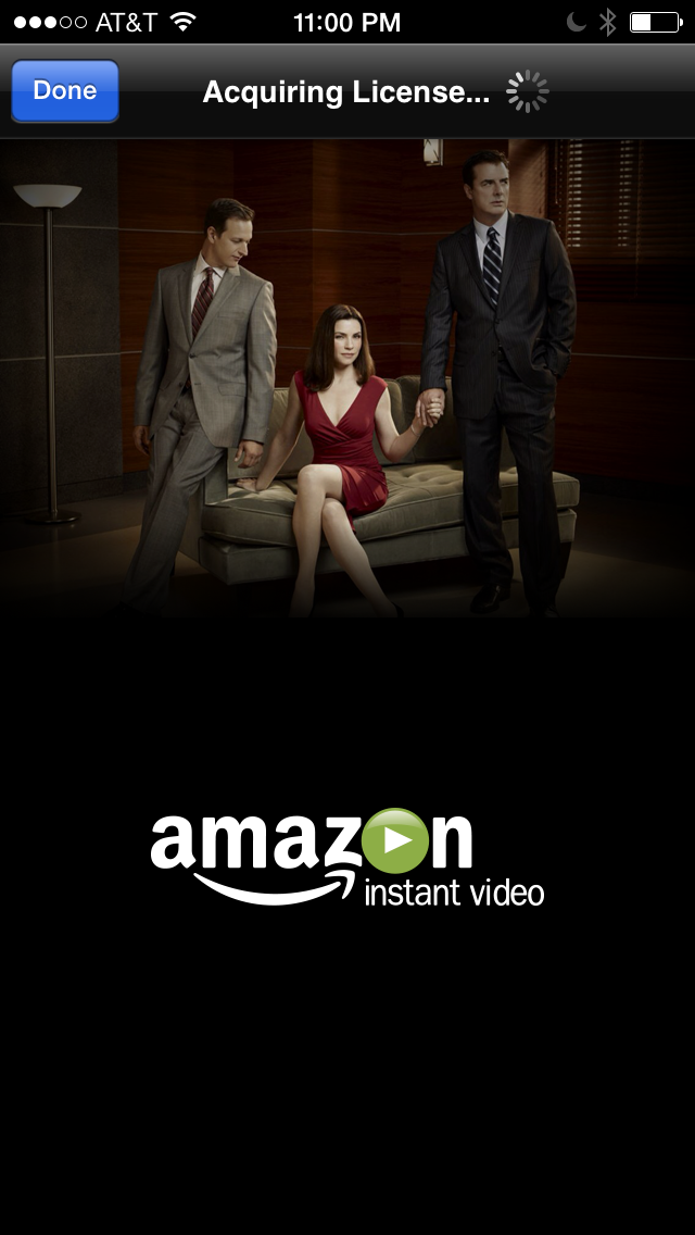 Amazon Instant on Apple TV