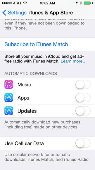 Auto app updates