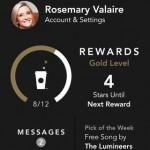 Starbucks iOS 7
