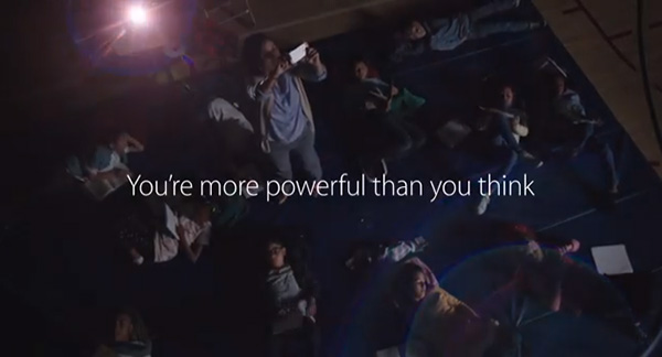 iPhone 5s TV ad